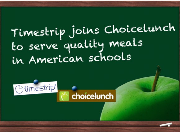 School Lunches- Now Being Served with a Timestrip® Temperature Guarantee!