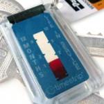 Timestrip Time Monitoring Plastic Keychains